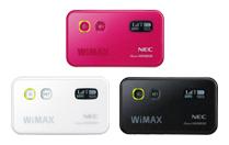 モバイル機器1(WM3800R)