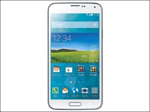 Galaxy S5 SCL23(Samsung製、5月中旬発売予定)