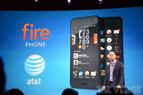 アマゾン独自のスマートフォン「Fire Phone」を発表!