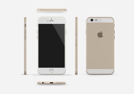 最新情報による次期iPhone6のレンダリング画像