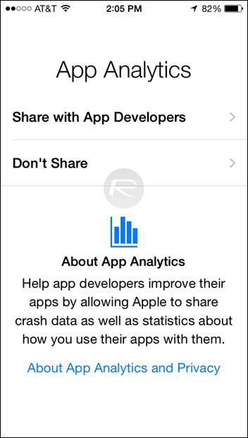 アプリ統計情報