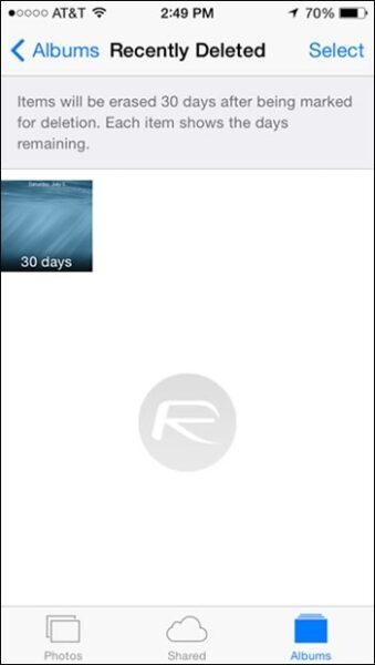 Delete-PhotosDays