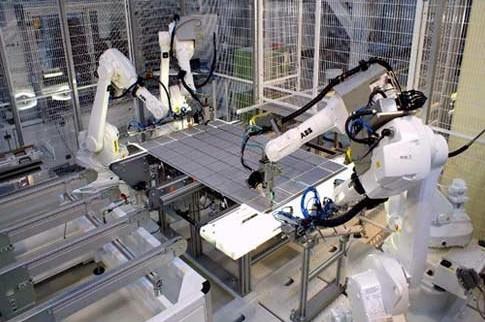 組立ロボットのイメージ