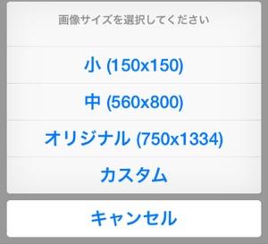Ver3.85は画像アップロード時にサイズ指定が可能!