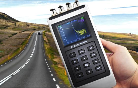 通信速度の計測画面