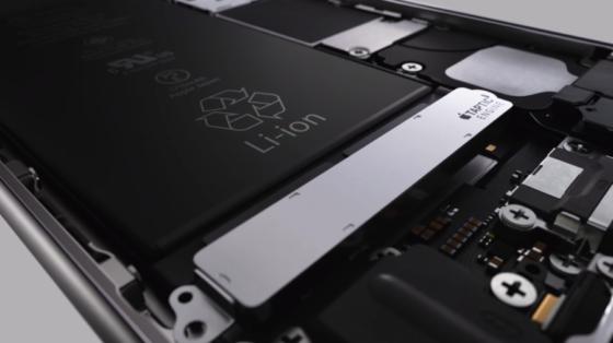 ipone6sのバッテリー