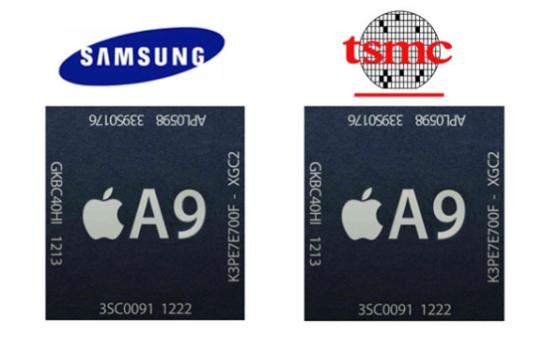iphone6s 2つのA9チップを搭載
