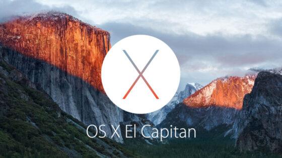 mac用OSの最新バージョンEl Capitan