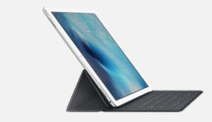 専用Smart Keyboardを装着したiPad Pro