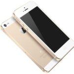中国市場向けのシャンパンゴールドのiphone5s