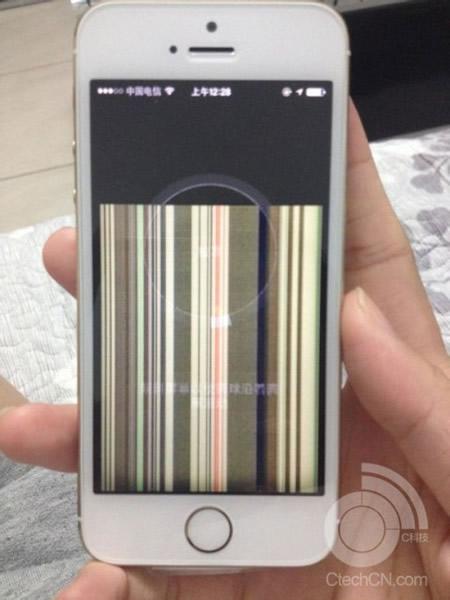 iphone5s表示不具合3