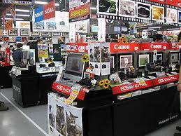 ヨドバシカメラ売り場