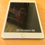 指紋認証を搭載した次期ipad mini