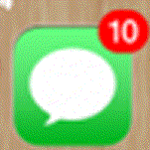 iphoneのホーム画面のあの邪魔な右肩の数字をきれいにする