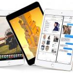 新型iPad mini4は9月10日からアップルストアで販売開始。