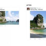 Twitter、画像表示の方法を変更 − 大きな画像を そのままのサイズで表示できるように