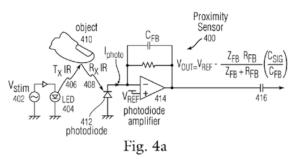 近接センサーで操作する特許1
