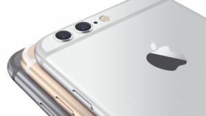 iphone6や6Sの背面のカメラは本体から少し出っ張っています