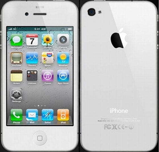 iPhone4Sの裏面画像