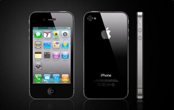 写真は同じデザインのiPhone4S