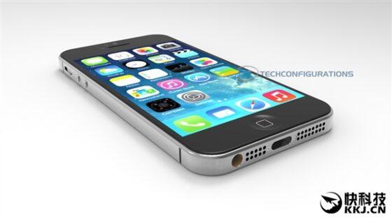 これは以前に紹介した「iPhone SE」の流出画像です