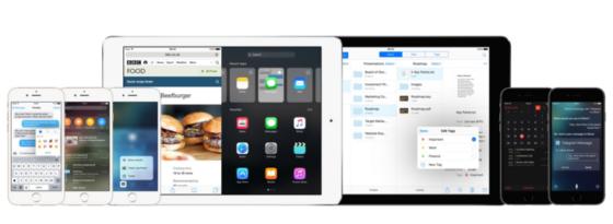アップル製品群の画像