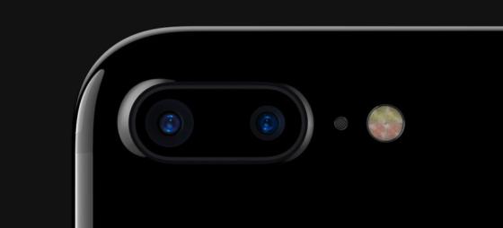 iphone7plusはデュアルレンズカメラ搭載