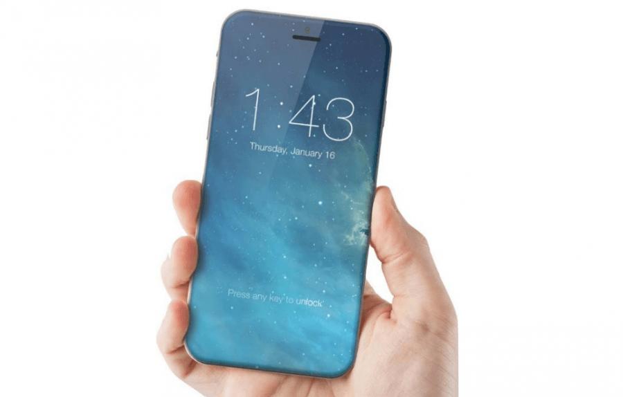ベゼルレスとなるiPhone8(コンセプト)