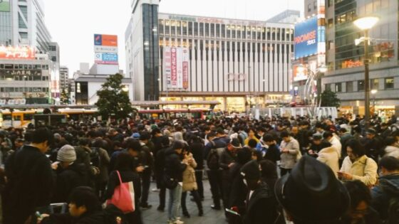 錦糸町駅前の賑わい