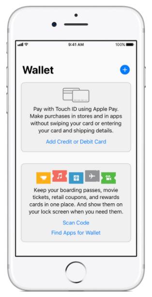 apple Payクレジットカードの追加画面