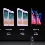 ソフトバンクが発表したiPhoneX価格 – 10月25日
