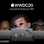 まもなく開催WWDC20画像