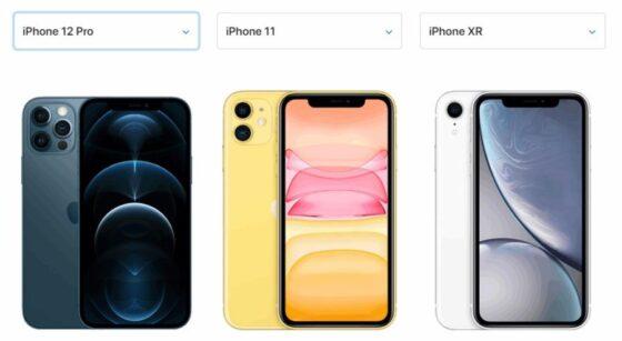 レンズ仕様(iphone12Pro/iPhone11/iPhone XR)