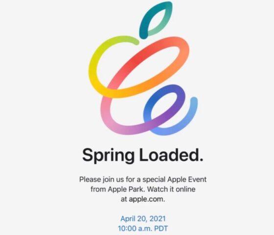 Spring loaded event banner